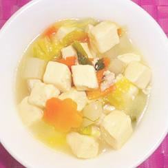 豆腐なべの画像