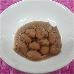 金時豆の煮付けの画像