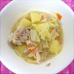 キャベツのスープ煮の画像